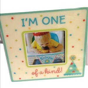 Hallmark Photo Frame Baby Boy 1st First Birthday